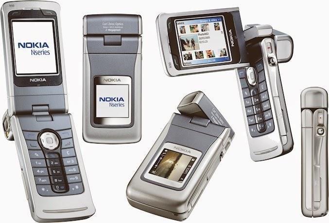 Nokia N90, шлейф был крайне ненадежным
