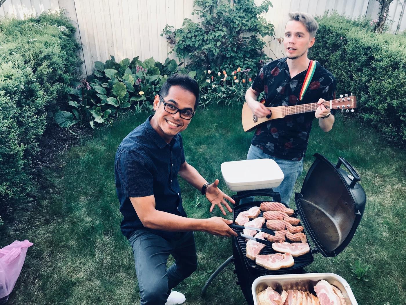 Традиционные летние BBQ party