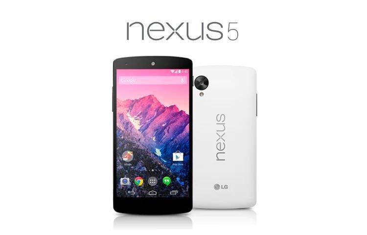 6. LG Nexus 5