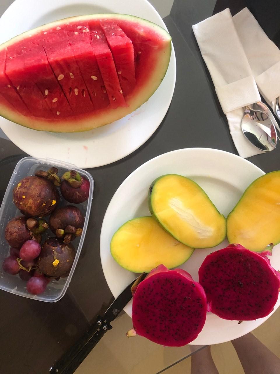 манга, драгон фрукт, мангустин