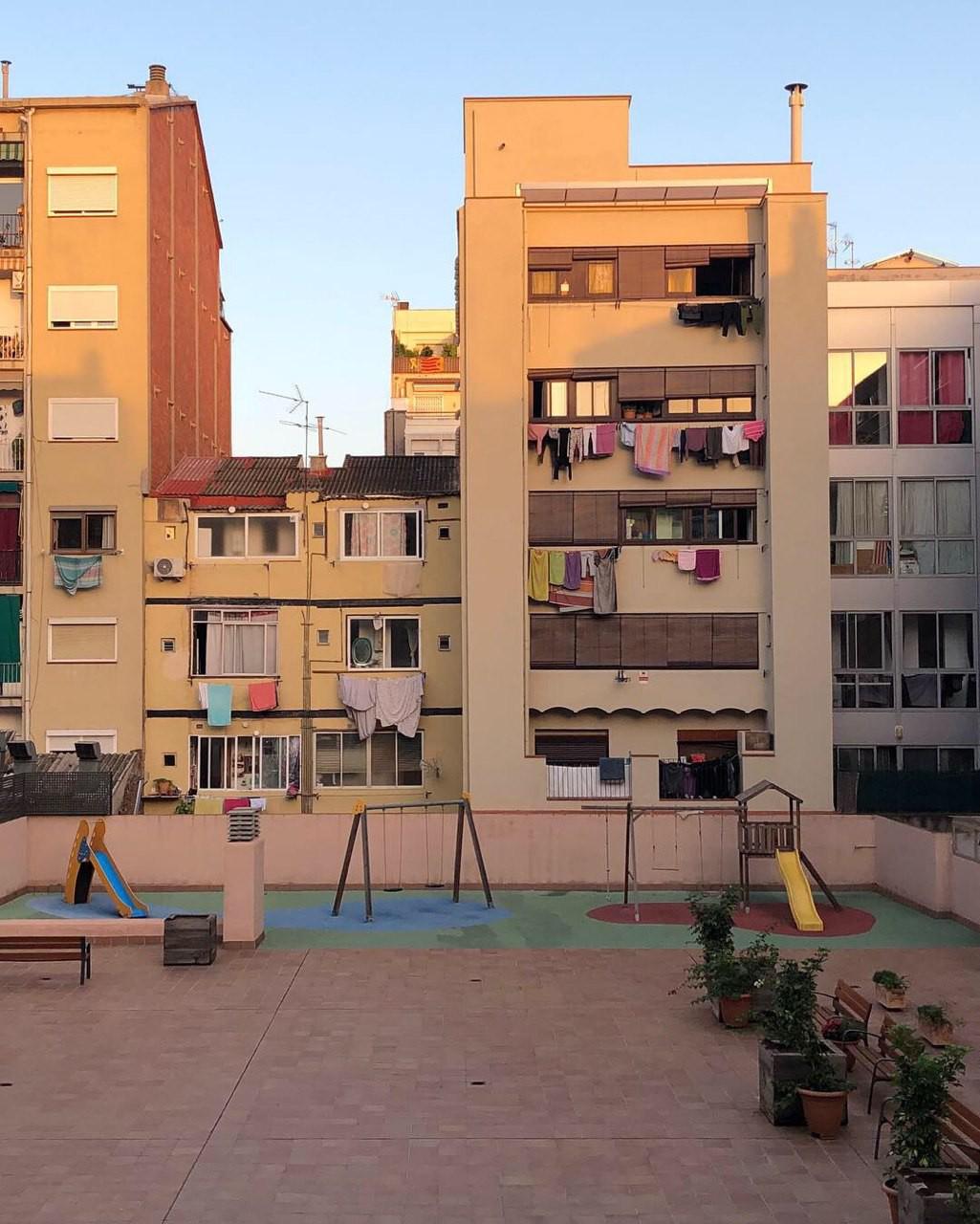В каждом квартале есть внутренний двор