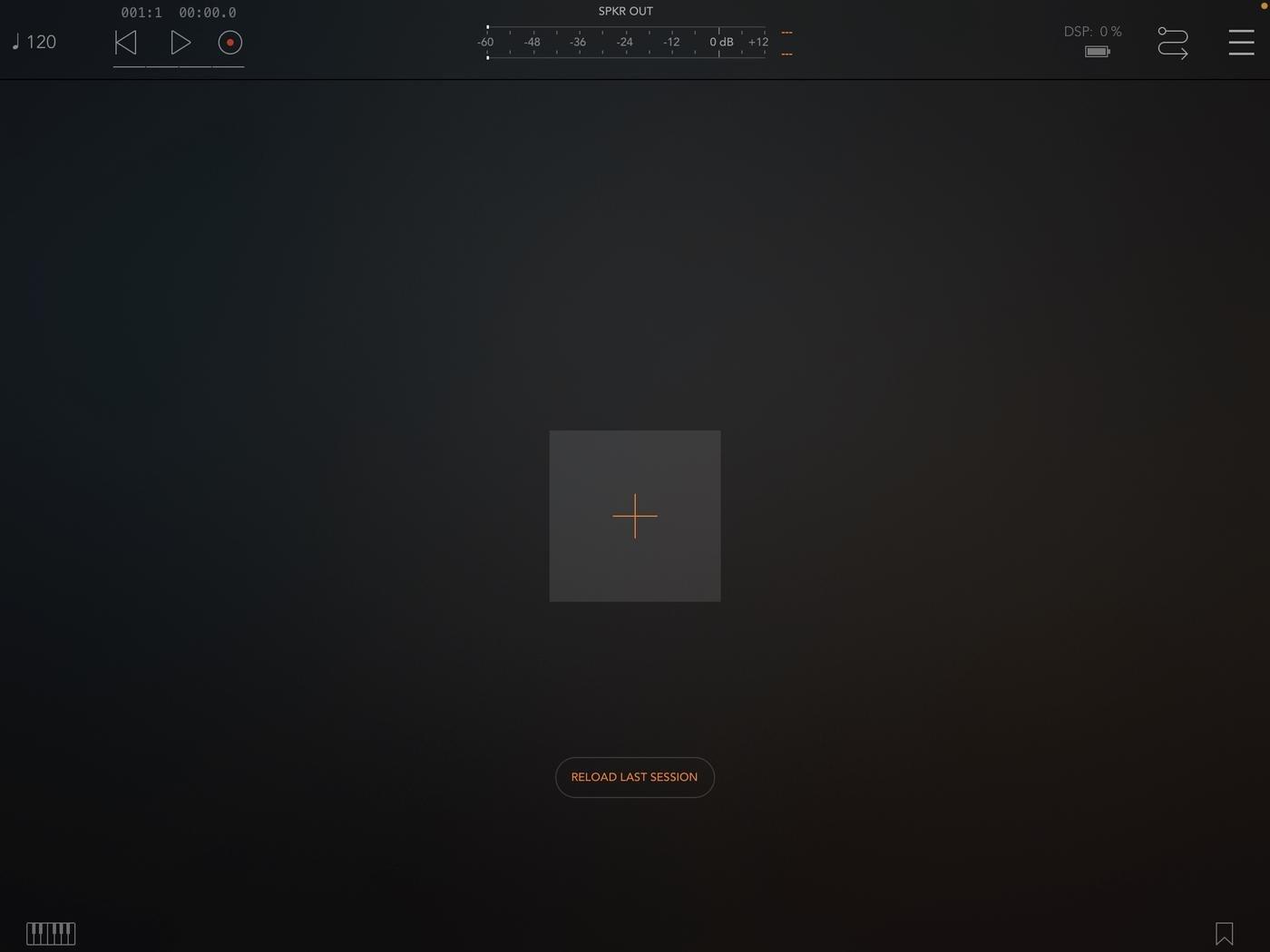 Стартовый экран Kymatica AUM