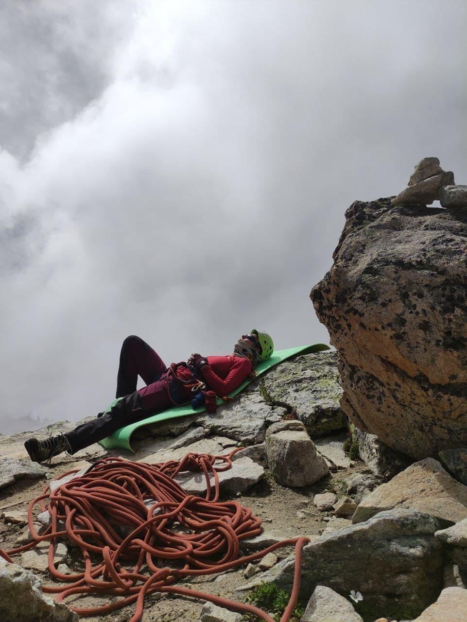 Познание дзена на вершине Северного Доломита, Кавказ