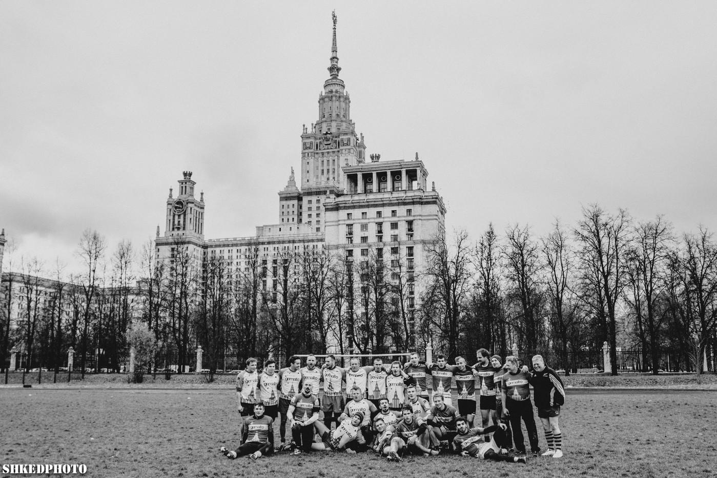 Сыграть в регби в Москве