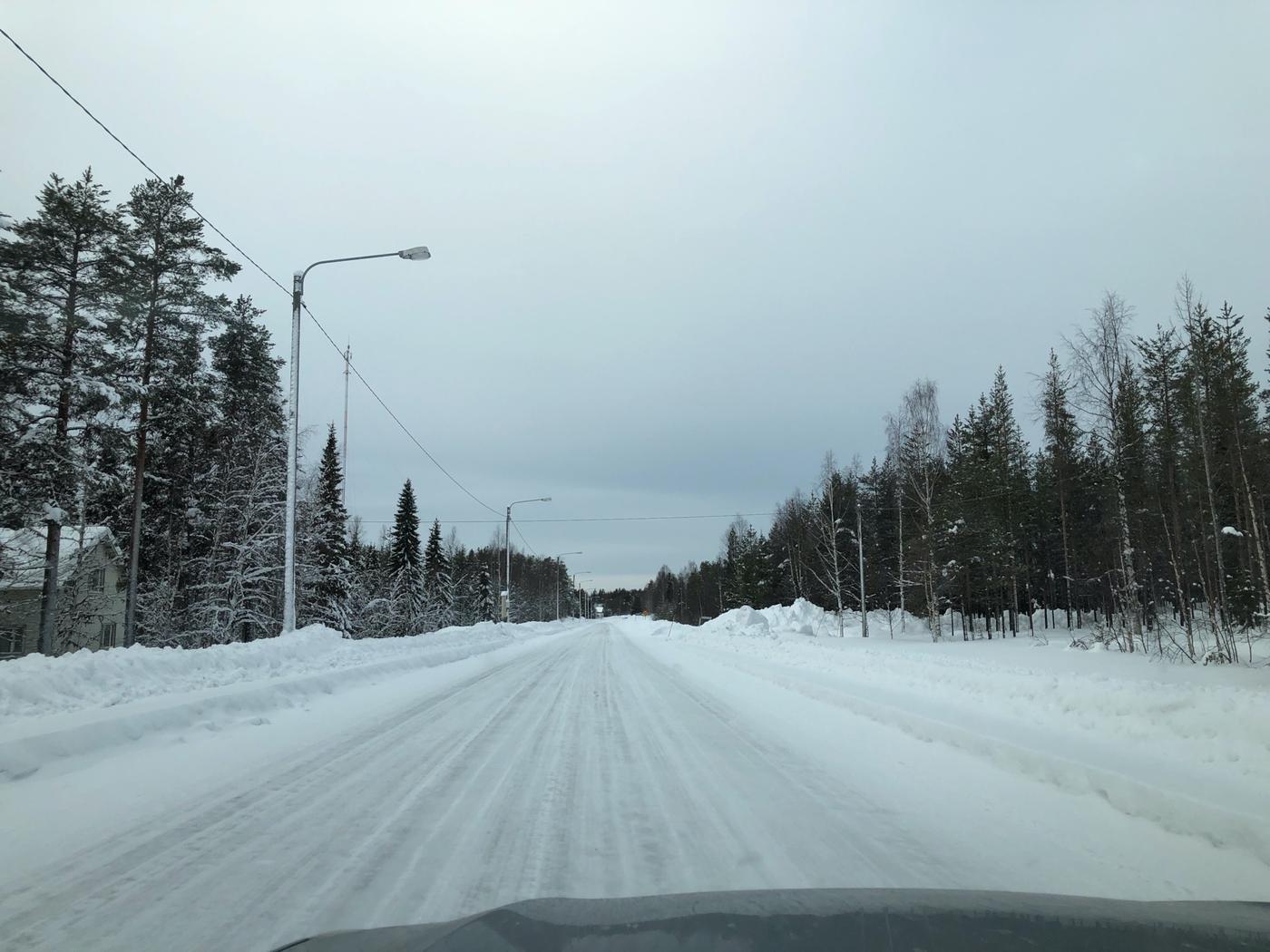 Места перед Финляндией