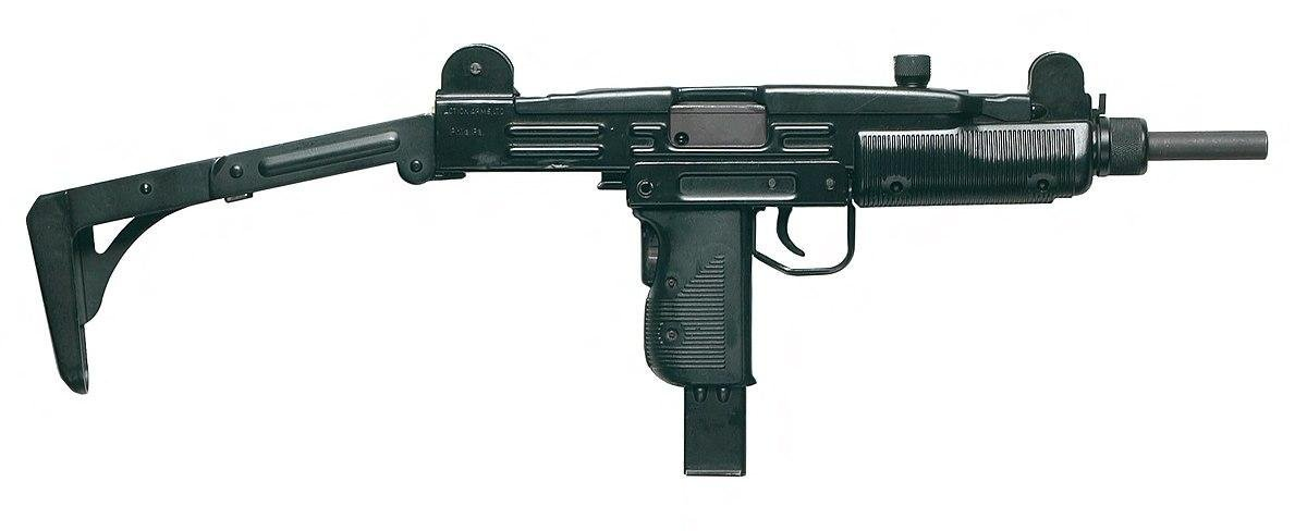 Узи, да, это пистолет, а не автомат