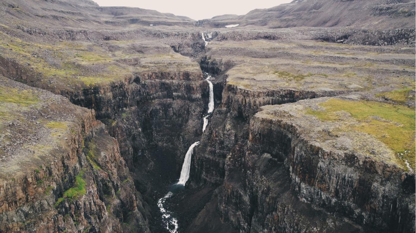 Так выглядела одна из наших стоянок на плато
