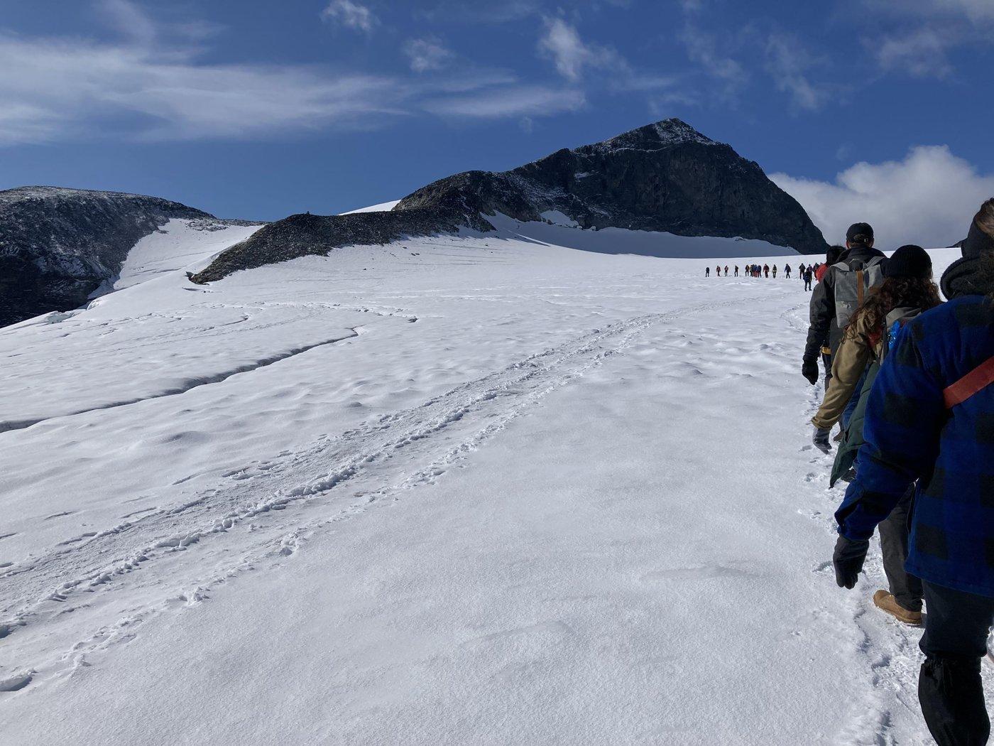 Ледник с виду не опасный, но я профан.