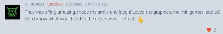 А ещё вас хвалят в комментариях ^_^