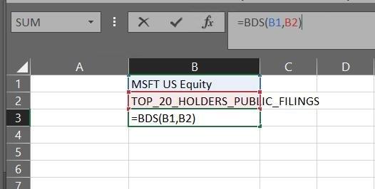 BDS  Шутка в том, что запрос идентичен BDP, только возвращает вам целый массив, а не поле для 1 индекса