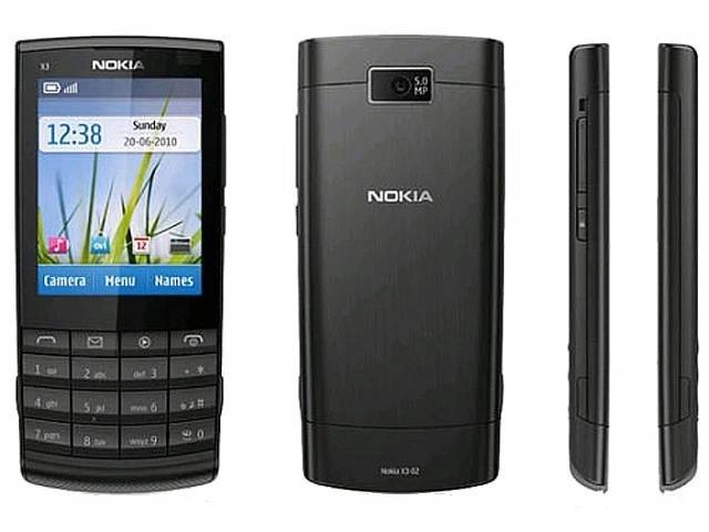 4. Nokia x3-02