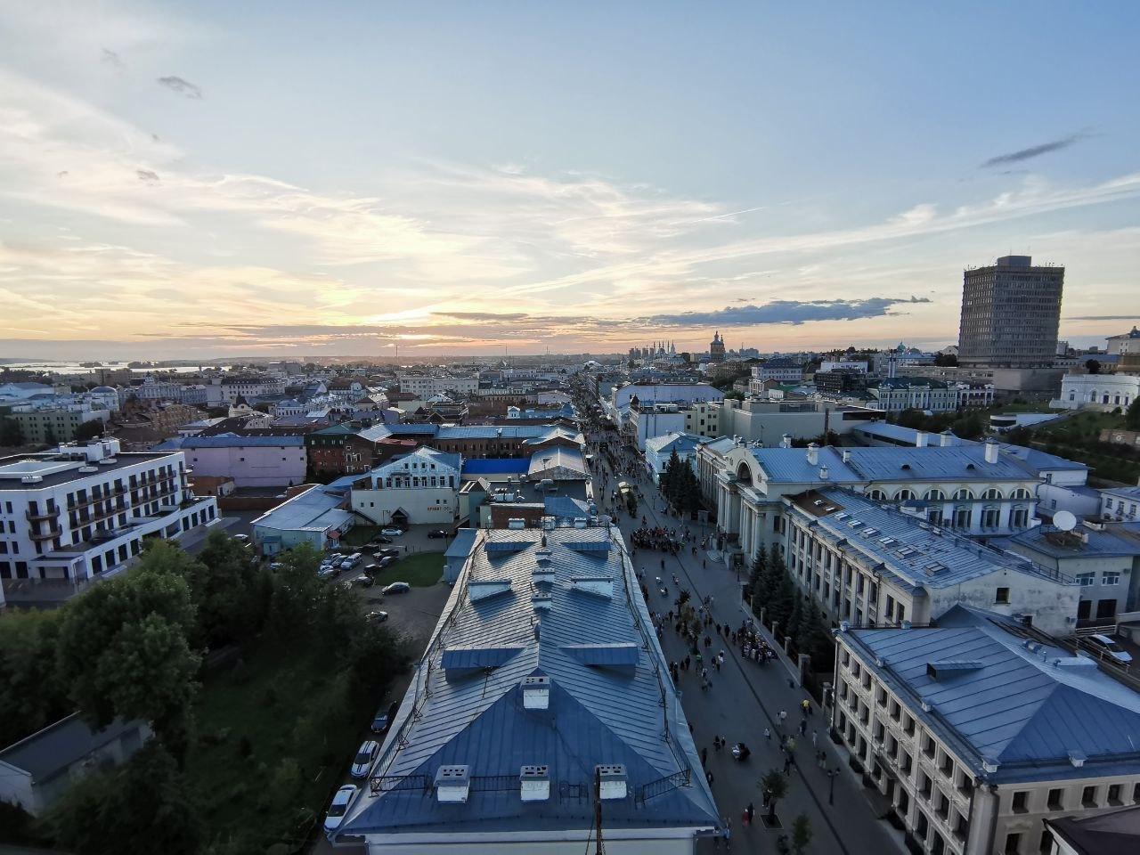 9. Вид с колокольни Богоявленского собора