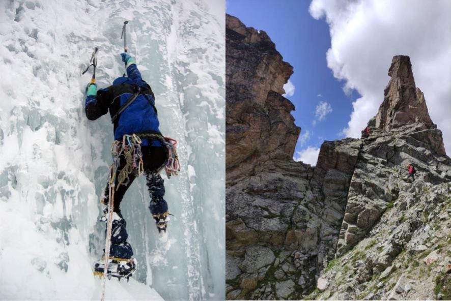 Все эти люди проходят альпинистские маршруты, но есть нюансы
