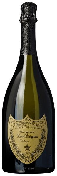 Бутылка Dom Perignon из Шампани, произведенная по традиционному методу (duh), может стоить от EUR200 до нескольких десятков тысяч евро. Sky's the limit.